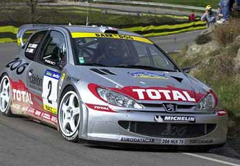 At The End Of The Year 2000 Peugeot Sport Chose DIMMA Design For The  Manufacturing Of The Peugeot 206 Super 1600 Body Kit. Itu0027s A New Car Trial  Set By ...